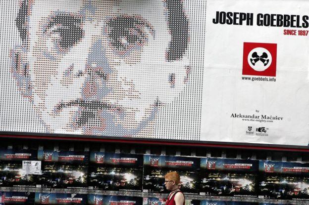 """Joseph Goebbels (en la imagen) era un hombre """"amable pero arrogante"""", recuerda la que fuera su secretaria, Brunhilde Pomsel. GETTY IMAGES"""