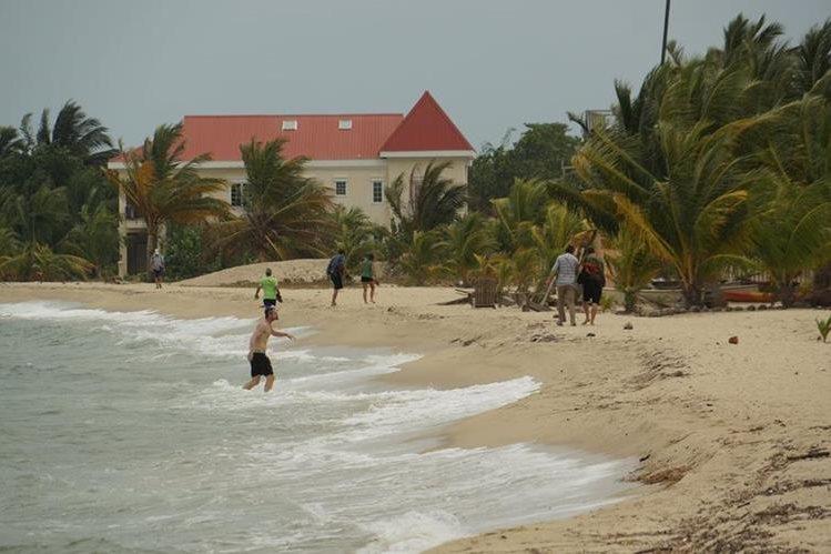 Poblado de Los Cayos en Belice, uno de los territorios en disputa. (Foto Prensa Libre: Hemeroteca PL)