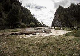 Se seca laguna en Chiantla, Huehuetenango.