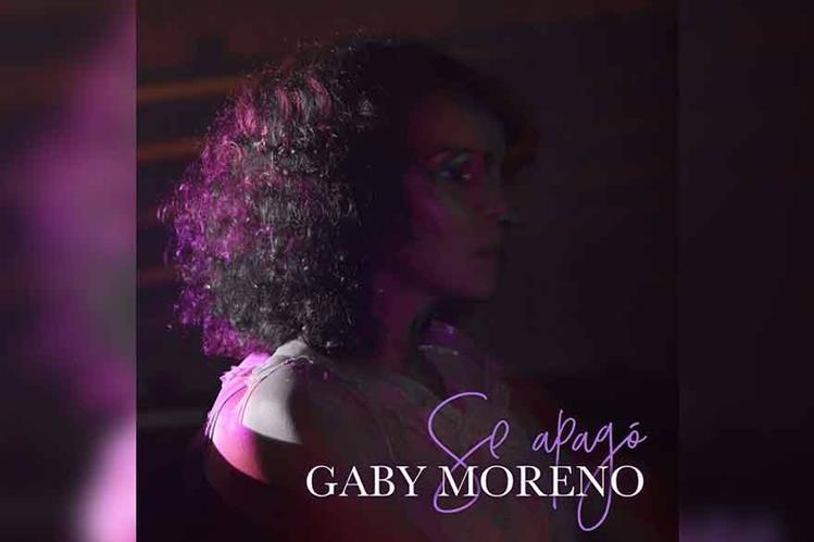 Se apagó es el primer sencillo del nuevo álbum de Gaby Moreno. (Foto Prensa Libre: Gaby Moreno)