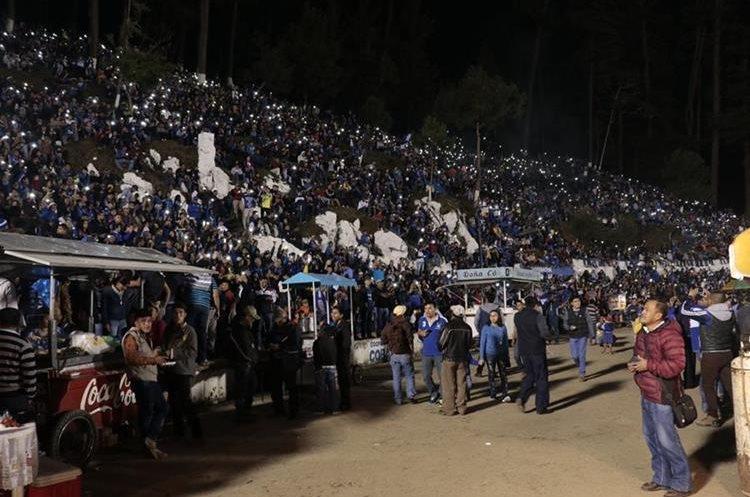 La fiesta fue completa en el estadio ecológico.