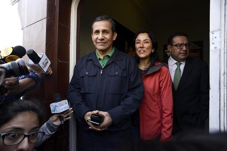 Humala y Nadine: juez decide hoy pedido de prisión preventiva