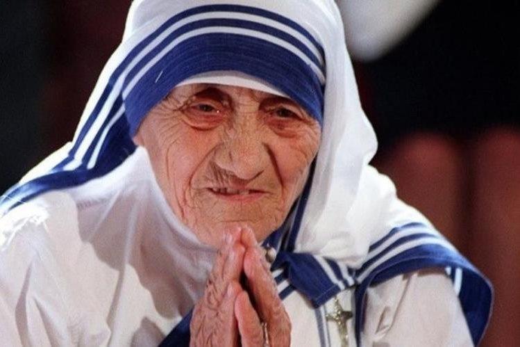 La Madre Teresa de Calcuta, fundadora de la Orden de las Misioneras de la Caridad.(EFE).