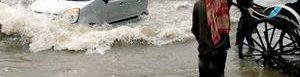 Inundacione en la India.
