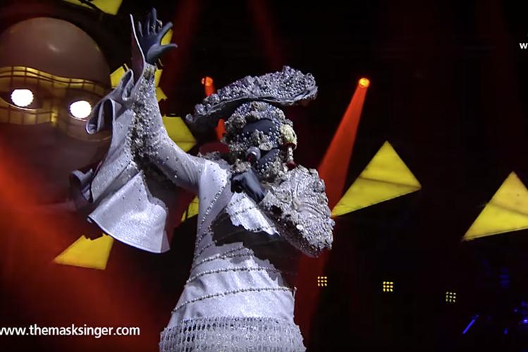 Una ostra cantante fue el video más viralizado del año, según las estadísticas de YouTube (Foto Prensa Libre: Masksinger/YouTube).