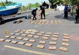 Hasta el 2 de julio se reportan seis mil 785 kilos de cocaína incautados, valorados en Q697 millones 131 mil 921 (Foto Prensa Libre: Hemeroteca PL).