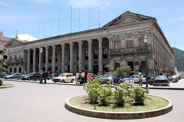 Municipalidad de Xela, Quetzaltenango, cuyas autoridades presentarán el Plan de Ordenamiento Territorial. (Foto HemerotecaPL)
