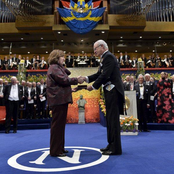 Svetlana Alexievich es una de las voces más respetadas de la literatura europea. (Foto Prensa Libre: Hemeroteca PL)