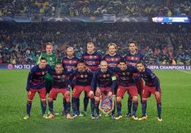 El Barcelona intentará retener el título de la Champions luego de avanzar a los cuartos de final de la competición.