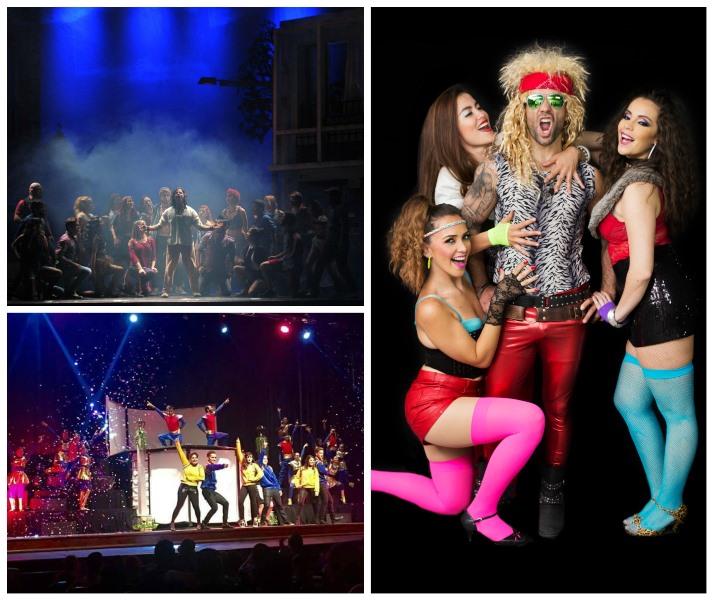 Los musicales presentados en el país permiten a los artistas nacionales mostrar sus habilidades en la actuación, el canto y el baile. (Foto Prensa Libre: Hemeroteca PL)