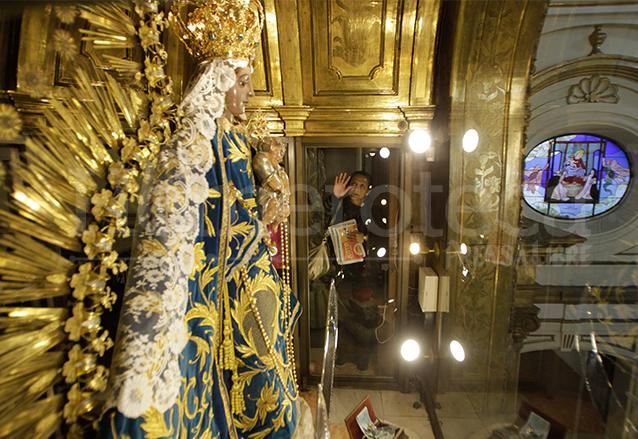 La Basílica fue dedicada en 1970 a la Virgen del Rosario, patrona de Guatemala. (Foto: Hemeroteca PL)