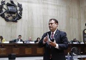 Fiscalía pidió el antejuicio contra el magistrado por enriquecimiento ilícito. (Foto Prensa Libre: Hemeroteca PL)