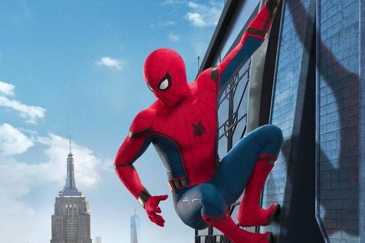 Imagen de uno de los primeros afiches oficiales de Spiderman: Homecoming. (Foto Prensa Libre: Sony Pictures)
