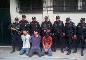 Ubicación de Masagua, Escuintla, donde autoridades capturaron a cuatro presuntos secuestradores. (Foto Prensa Libre: PNC)
