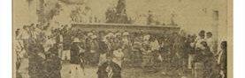 Procesión de San Juan Bautista en San Juan Comalapa, Chimaltenango, el 24 de junio de 1970. (Foto: Hemeroteca PL)