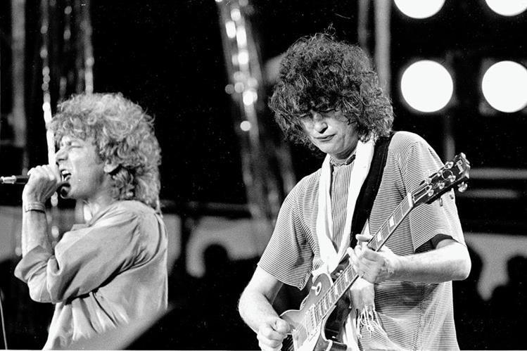 La banda Led Zeppelin participó en Live Aid en 1985. (Foto: AP)