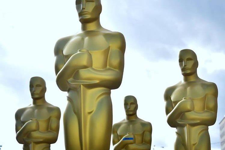 Los premios Óscar se entregan este domingo y la competencia está reñida. (Foto Prensa Libre: AFP)