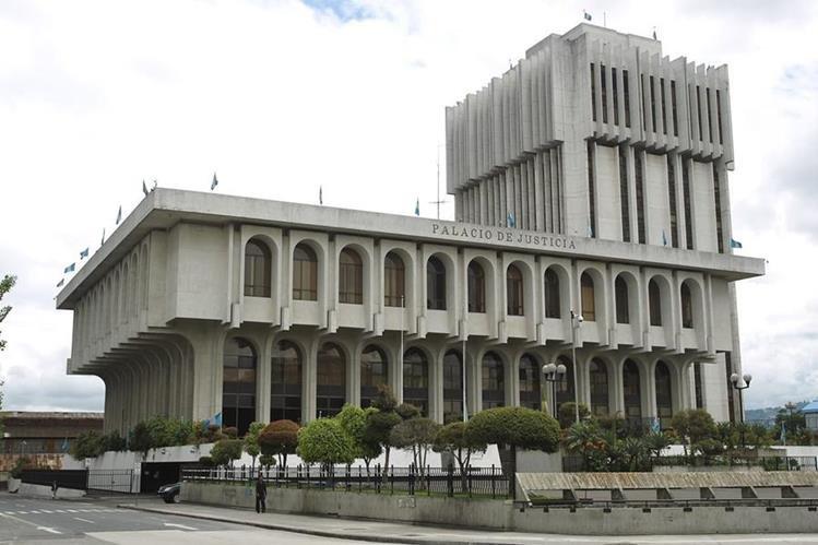 Palacio de Justicia, sede del Organismo Judicial, en la zona 1. (Foto Prensa Libre: Hemeroteca PL)