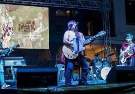 La agrupación lanzó recientemente el disco B'aktum Cero a finales de abril. (Foto Prensa Libre: Cortesía B'aktum Cero)