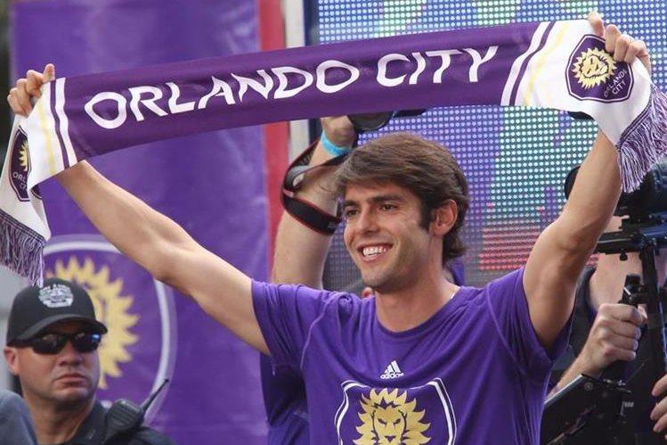 Kaká, quien juega con el club Orlando City en la Florida, encabezó las ganancias de la MLS. (Fotos Redes Sociales).