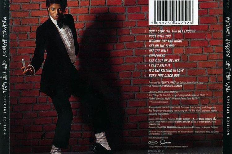 Off the wall es uno de los discos más populares de Michael Jackson. (Foto Prensa Libre: Hemeroteca PL)
