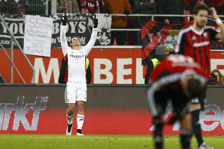 El mexicano Javier Hérnandez termina el año, con 19 goles. (Foto Prensa Libre: AP)