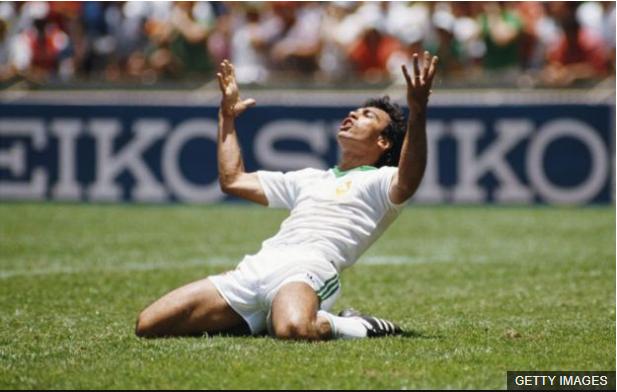 Hugo Sánchez es uno de los delanteros históricos de la selección mexicana. (Foto Prensa Libre: BBC Mundo)