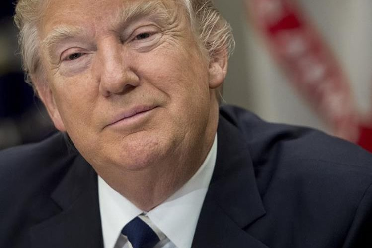 Donald Trump, presidente de Estados Unidos. (Foto Prensa Libre: AFP).