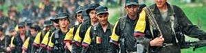 Miembros de las FARC.