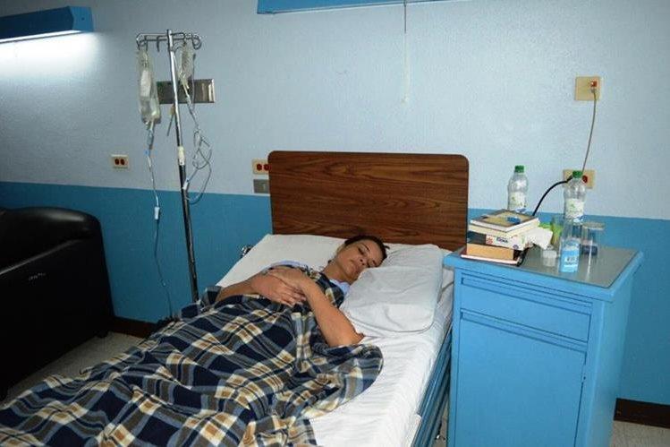 El Ministerio de la Defenda solicitó que Baldetti sea trasladada a un hospital del Ministerio de Salud. (Foto Prensa Libre: Hemeroteca PL)