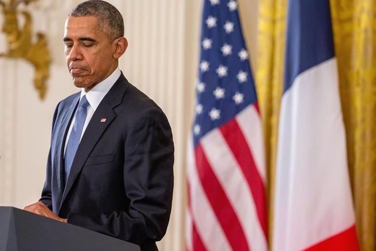 Barack Obama, presidente de EE. UU. (Foto Prensa Libre: AP).
