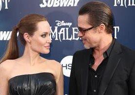Angelina Jolie le pide el divorcio a Brad Pitt. (Foto Prensa Libre: AP)