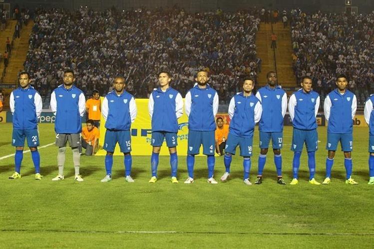 La Selección de Guatemala arrancará el trabajo el 1 de febrero camino a la clasificación a Rusia 2018. (Foto Prensa Libre: Hemeroteca PL)