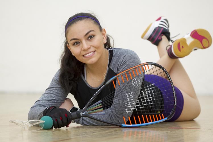 Ana Gabriela Martínez competirá en San Luis Potosí, México en el campeonato mundial juvenil. (Foto Prensa Libre: Norvin Mendoza).