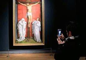El museo El Prado se luce con El Calvario. (Foto Prensa Libre: EFE)
