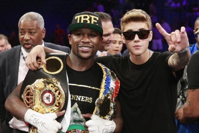 Floyd Mayweather considera a Justin Bieber un