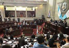 Congreso se reúne para continuar discusión de reformas constitucionales. (Foto Prensa Libre: Jessica Gramajo)