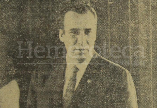 Periodista Juan Francisco Montenegro Sierra fue alcalde de la Ciudad de Guatemala de 1963 a 1965. (Foto: Hemeroteca PL)