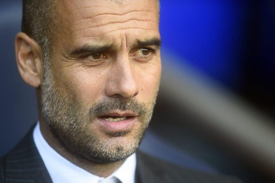 Guardiola espera ganar la Premier League con el Manchester City. (Foto Prensa Libre: EFE)