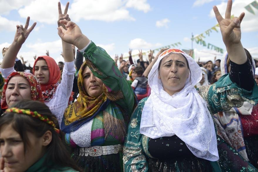 Los kurdos también celebran el Año Nuevo en una fecha diferente.