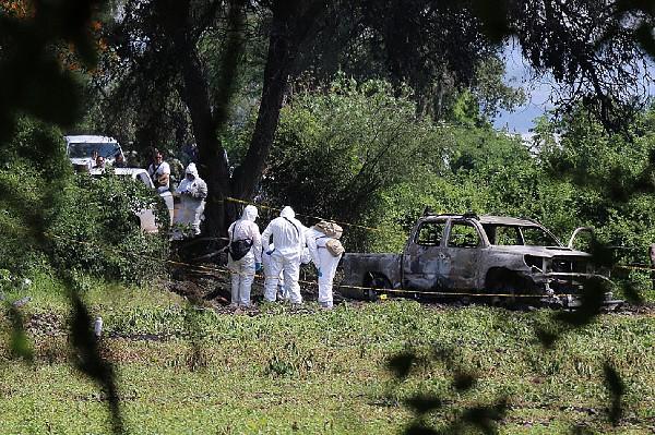 Nueve personas fueron carbonizadas en el estado de Michoacán, México.(EFE).
