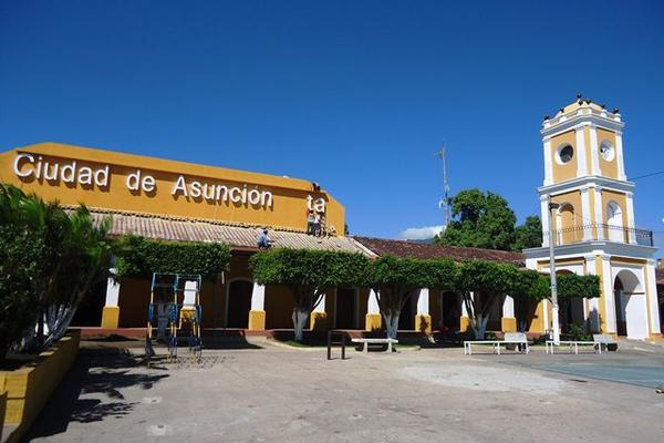 Parque de Asunción Mita, Jutiapa, donde el MEM autorizó la instalación de un proyecto geotérmico. (Foto Hemeroteca PL)