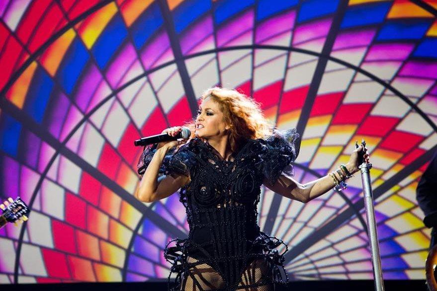 La cantante Paulina Rubio ha anunciado que espera su segundo hijo. (Foto Prensa Libre: EFE)