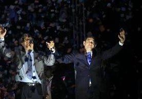 Jimmy Morales ganó el balotaje con más del 60 por ciento de los votos. (Foto Prensa Libre: Hemeroteca PL)