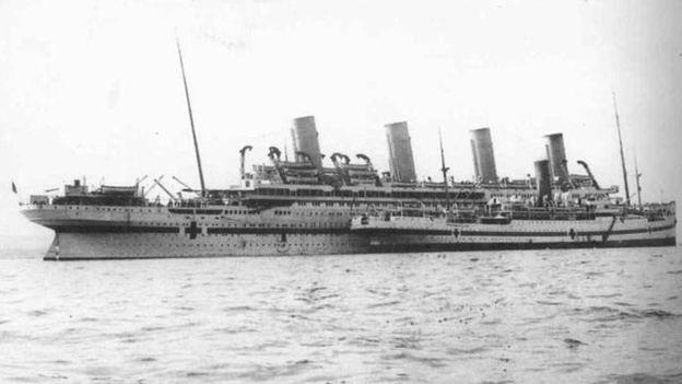 El naufragio del Britannic sigue siendo uno de los grandes misterios de la historia de la navegación. (UK ARMY VIA WIKIMEDIA COMMONS)