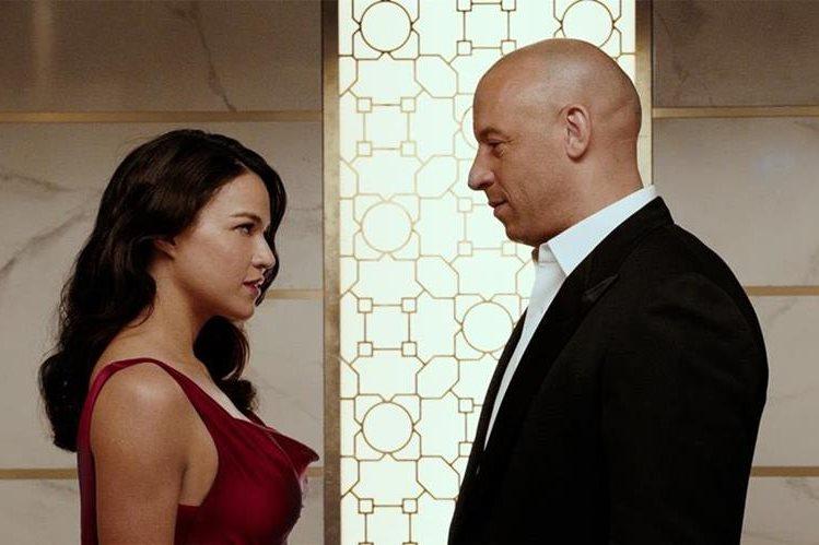 """En la película """"Rápidos y furiosos 7"""", la protagonista es la actriz de origen hispano Michelle Rodríguez."""