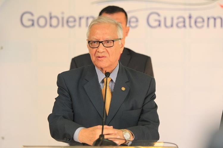 El presidente Maldonado publicó en el diario oficial una circular vinculante. (Foto Prensa Libre: Hemeroteca PL)