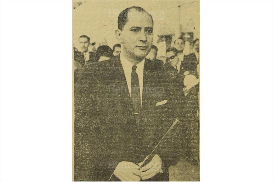 1963 El periodista Álvaro Contreras Vélez, director de Prensa Libre.  (Foto: Hemeroteca PL)