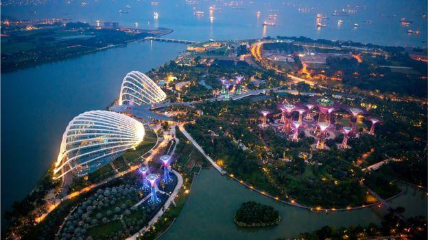 La eficiencia energética es un aspecto clave para el desarrollo de Singapur. (MONTHON WA/GETTY IMAGES)