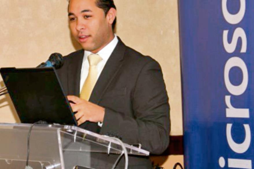 Juan Lozada, de Microsoft, durante su visita al país. (Foto Prensa Libre: Hemeroteca PL).